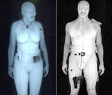 Body scanner tampon